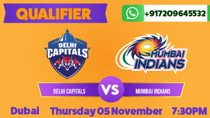 IPL Qualifier: Mumbai vs Delhi Betting Tips & Predictions November 5th 2020