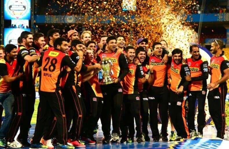 SRH celebrate a win of the IPL: Will Hyderabad go the whole way to win the IPL this year?