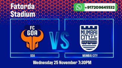 FC Goa vs Mumbai City FC betting tips and predictions for ISL 2020-21
