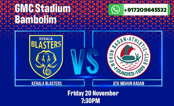Kerala Blasters vs Mohun Bagan ISL Betting Tips