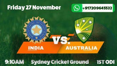 india tour australia 2020 odi betting tips and predictions
