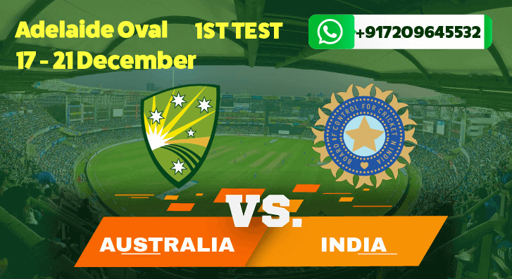 India Tour of Australia First Test Betting Tips & Predictions