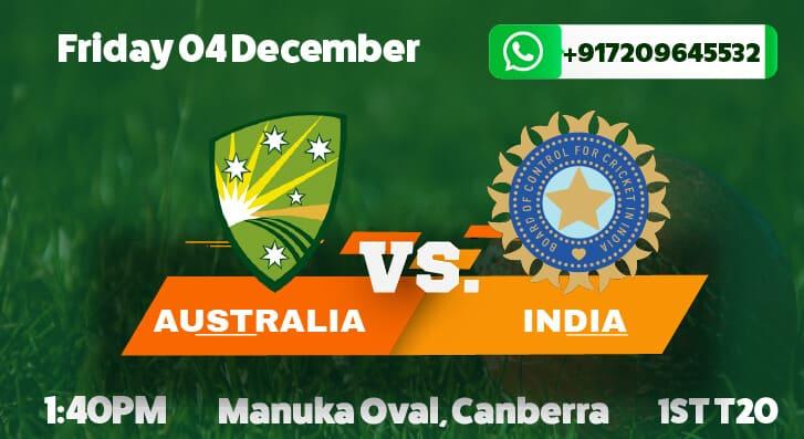 Australia vs India 1st T20I betting tips and predictions