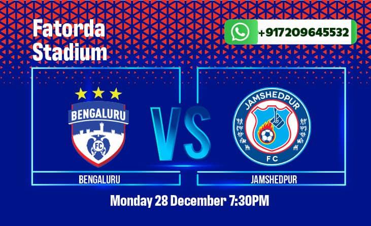 Bengaluru FC vs Jamshedpur FC ISL Betting Tips & Predictions
