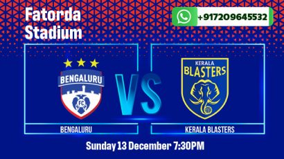 Bengaluru FC vs Kerala Blasters Betting Tips & Predictions