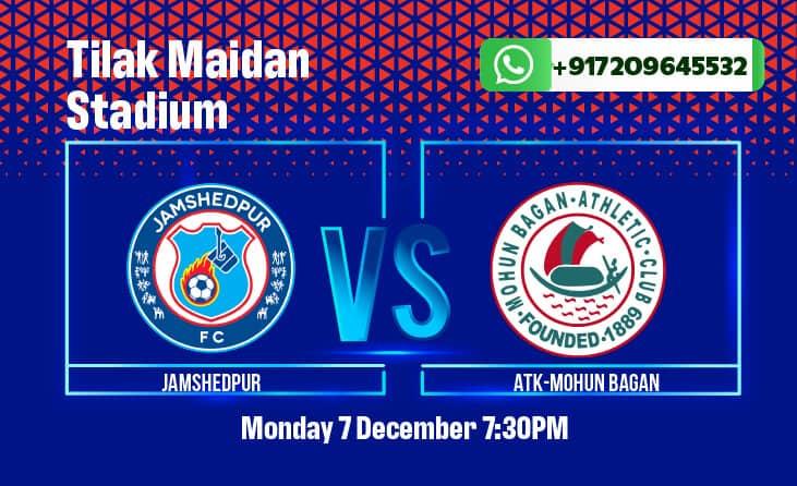 Jamshedpur FC vs ATK Mohun Bagan betting tips and predictions