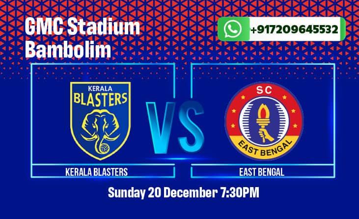Kerala Blasters vs SC East Bengal ISL Betting Tips & Predictions