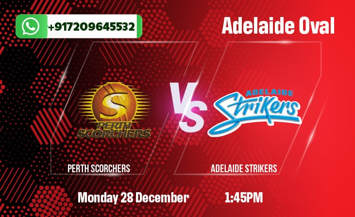 Perth Scorchers vs Adelaide Strikers Betting Tips and Predictions BBL