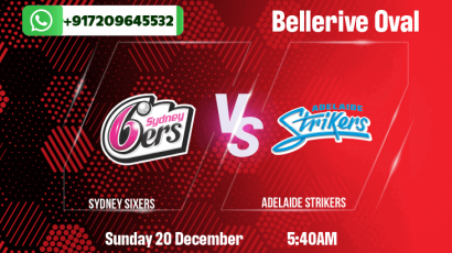 Sydney Sixers v Adelaide Strikers Betting Tips & Predictions
