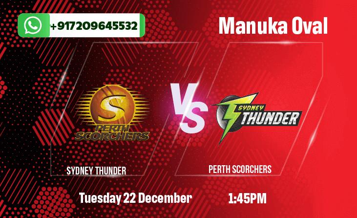 Sydney Thunder v Perth Scorchers Betting Tips & Predictions