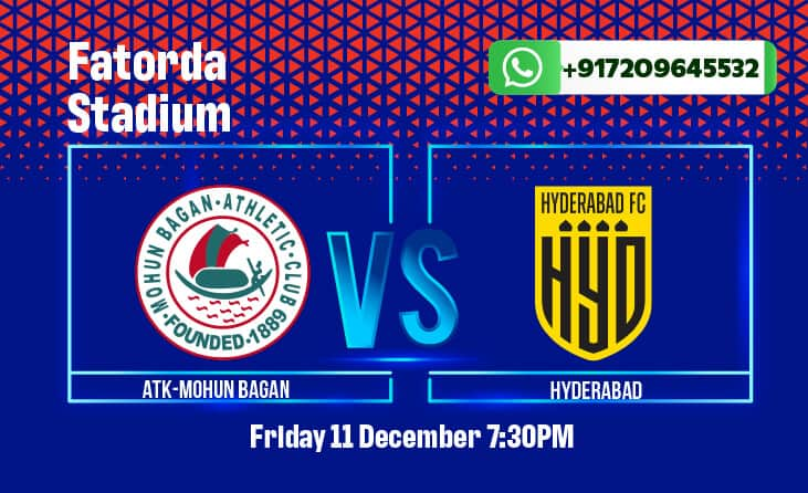 ATK Mohun Bagan vs Hyderabad FC Betting Tips & Predictions