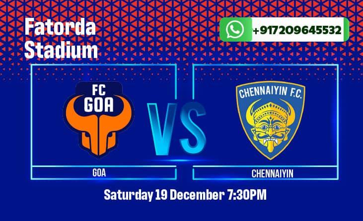 FC Goa vs Chennaiyin FC ISL Betting Tips and Predictions
