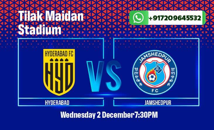 Hyderabad vs Jamshedpur ISL Betting Tips, predictions, match odds