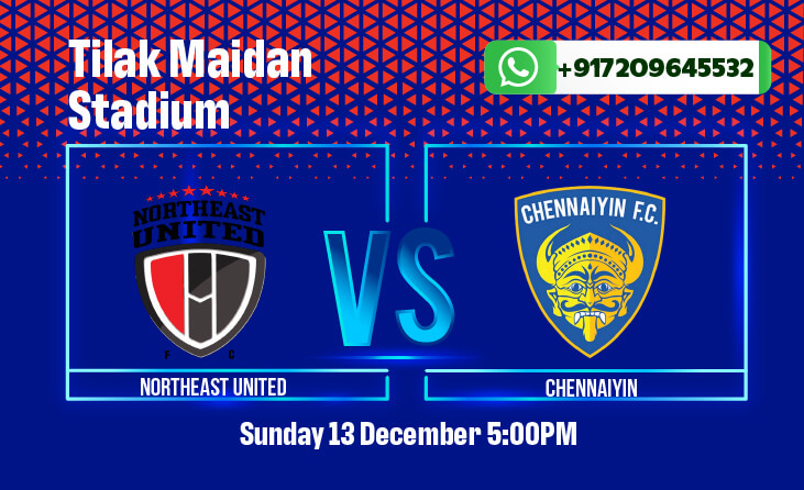 NorthEast United vs Chennaiyin FC ISL betting predictions
