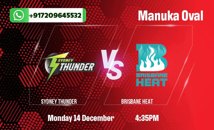 Sydney Thunder v Brisbane HeatBetting Tips & Predictions December 14th 2020