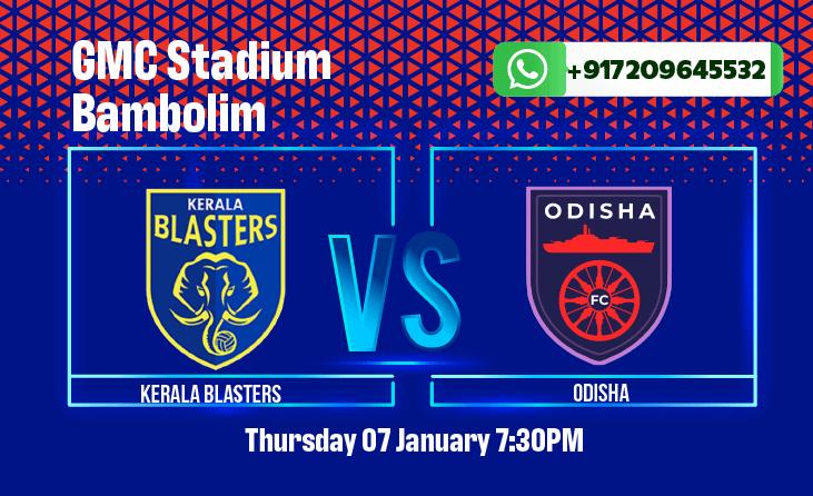 Kerala Blasters vs Odisha FC Betting Tips and Predictions