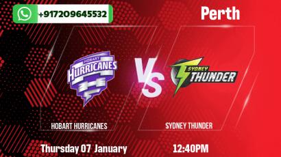 Hobart Hurricanes v Sydney Thunder Betting Tips & Predictions