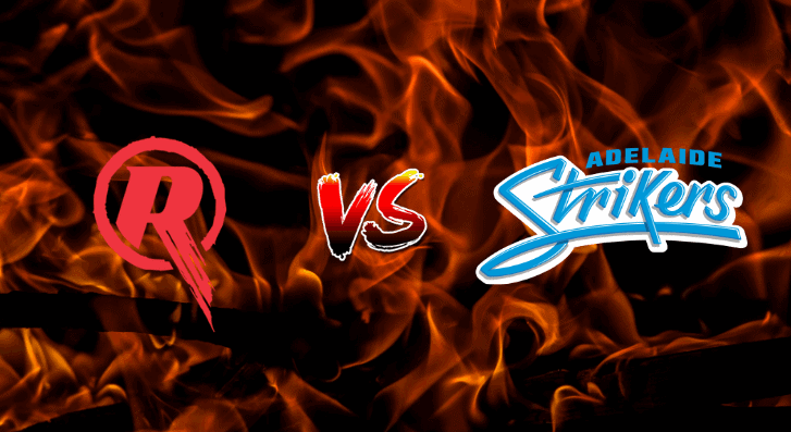 Melbourne Renegades v Adelaide StrikersBetting Tips & Predictions January 5th 2021