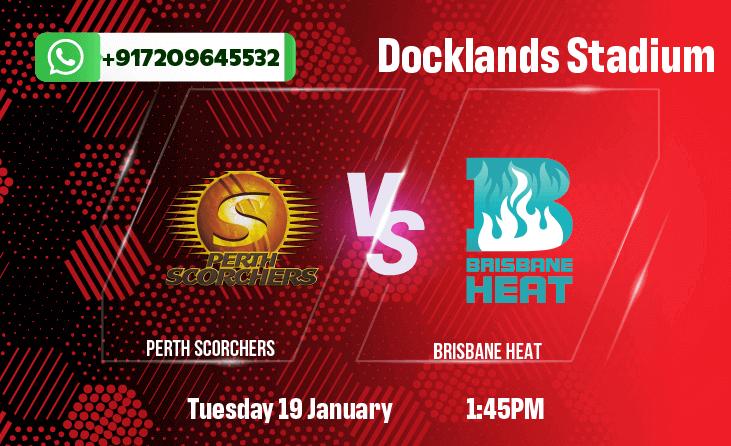 Perth Scorchers v Brisbane Heat Betting Tips & Predictions