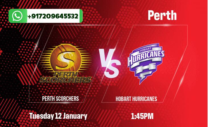 Perth Scorchers v Hobart Hurricanes Betting Tips & Predictions