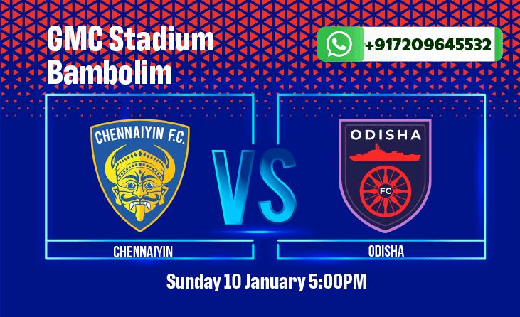 Chennaiyin FC vs Odisha FC Betting Tips and Predictions