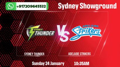 Sydney Thunder v Adelaide Strikers Betting Tips & Predictions