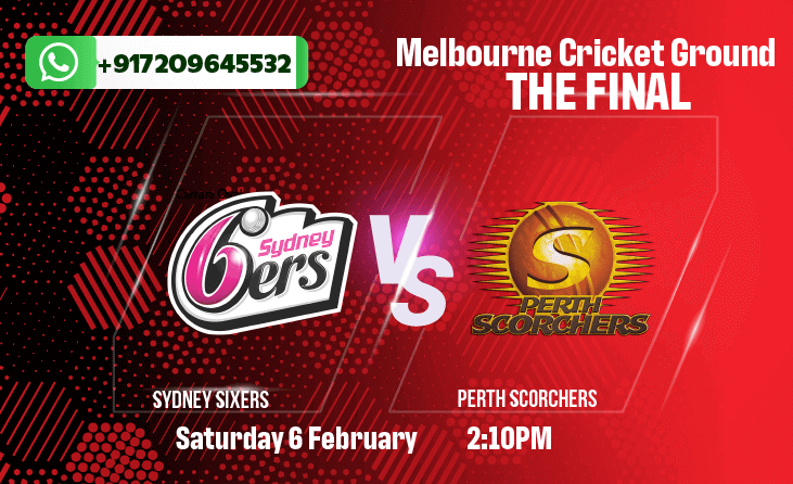 BBL FINAL: Sixers vs Scorchers Betting Tips & Predictions