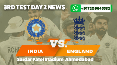 Records Tumble in 3rd IND v ENG Test as India Win