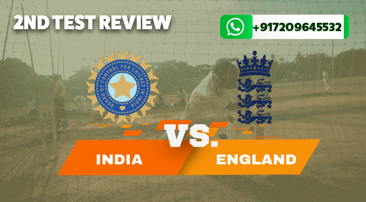 India vs England Second Test Updates