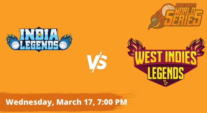 India Legends vs West Indies Legends Road Safety World Series Semifinal Betting tips