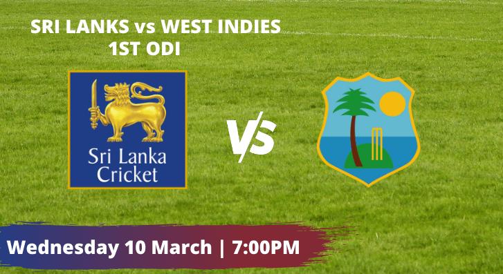 West Indies vs Sri Lanka 1st ODI Betting Tips and Predictions