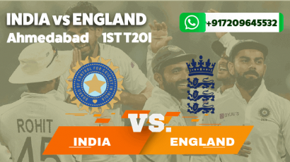 India vs England First T20I Betting Tips & Predictions