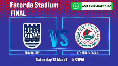 Mumbai City FC vs ATK Mohun Bagan ISL Final Betting tips & predictions