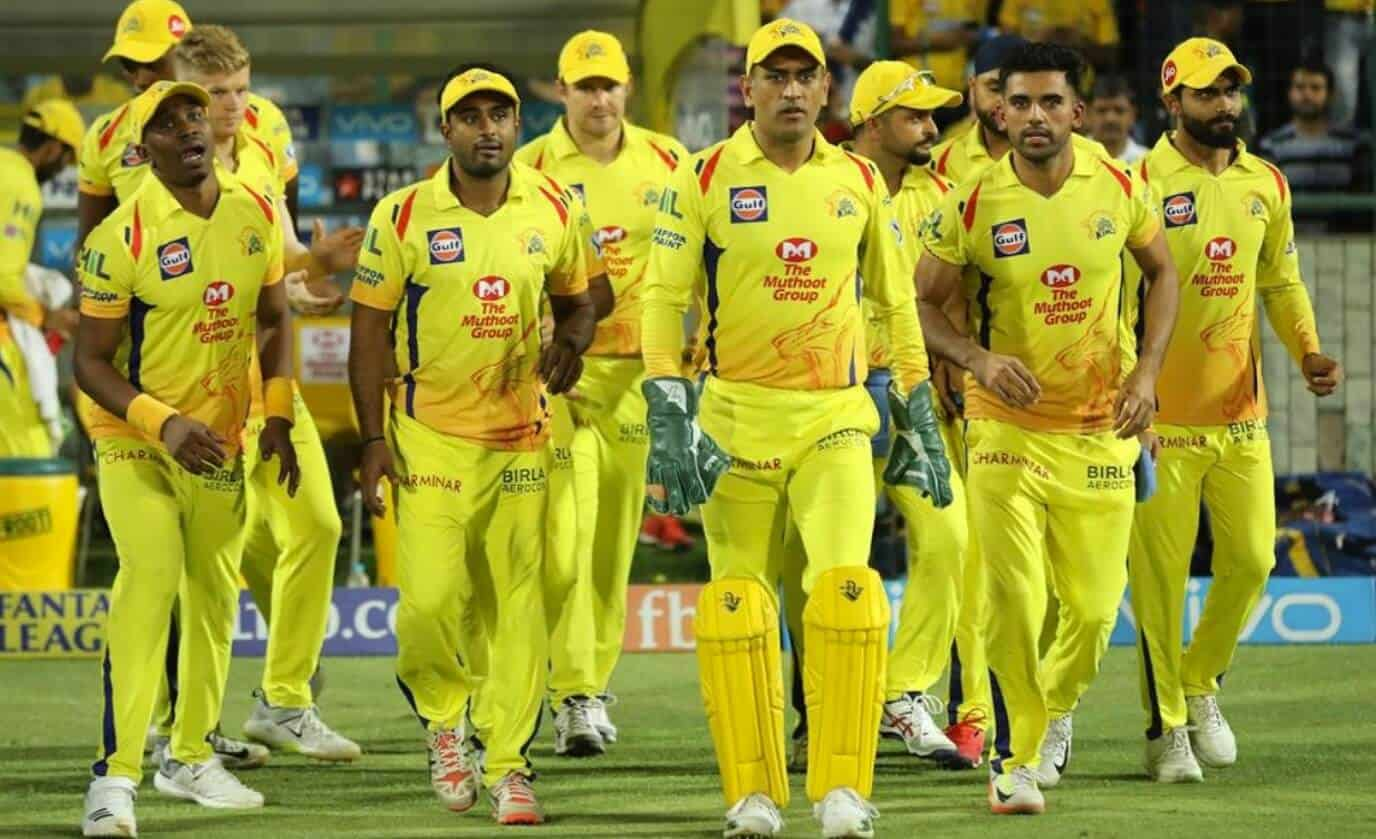 CSK beat RR by 45 Runs in the IPL 2021