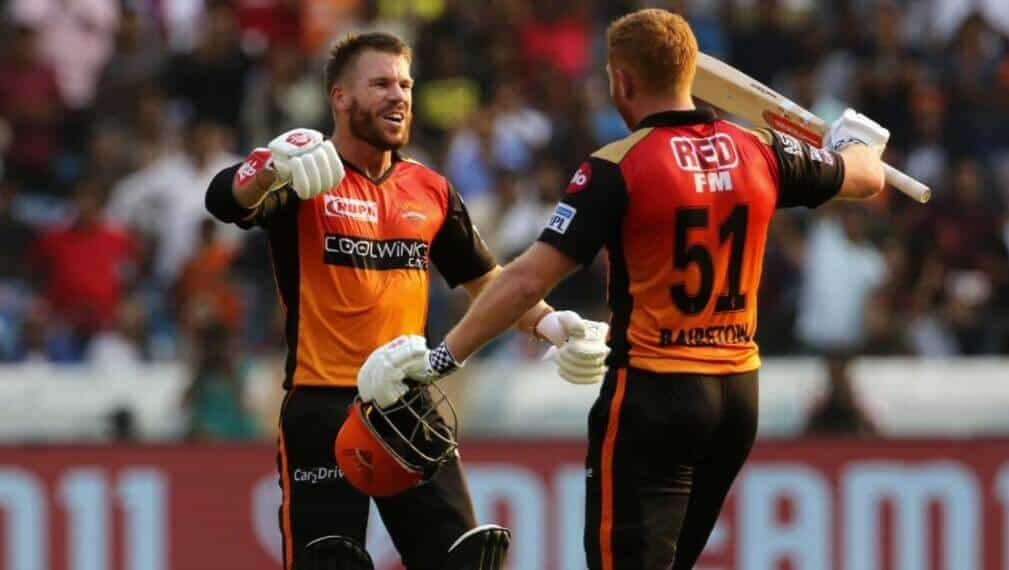 Jonny Bairstow and David Warner guided SRH to a 9-wicket win over Punjab Kings