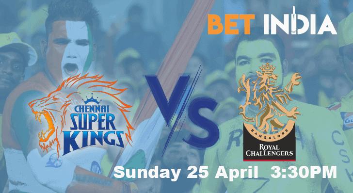 CSK vs RCB IPL 2021 Betting Tips and Predictions