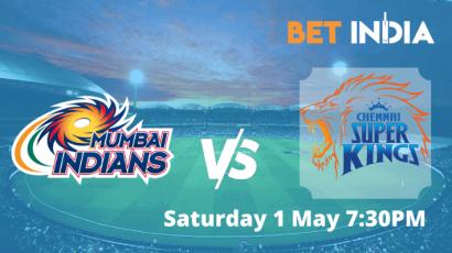 MI v CSK IPL 2021 Betting Tips & Predictions