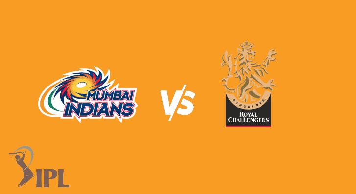 Mumbai Indians vs Royal Challengers Bangalore