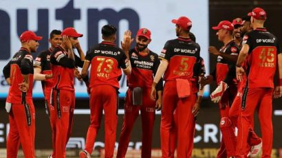 RCB beat SRH by 6 runs in the IPL 2021