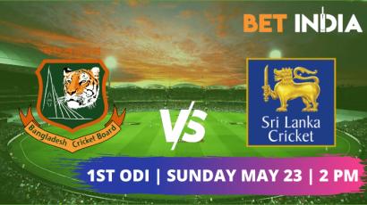 Bangladesh vs Sri Lanka first ODI Sunday May 23 2021